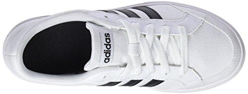 Collo a Black adidas Footwear Set Sneaker Core Vs Bianco Basso Core White Black Uomo Fxxwq