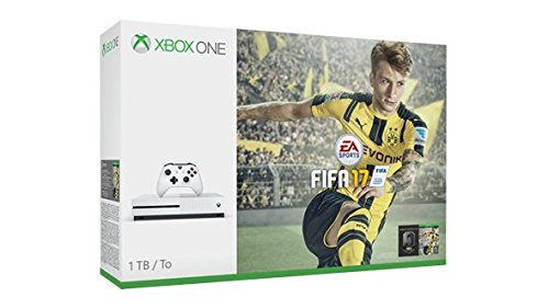 Xbox One S 1TB Console – FIFA 17 Bundle