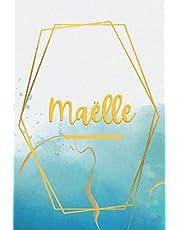 Maëlle: Prénom personnalisé | Cadeau d'anniversaire ,Noël , Action de grâce pour femme, maman, soeur |Saint Valentin