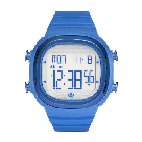 Adidas Originals ADH2108 - Reloj unisex de cuarzo, correa de resina color azul claro: Amazon.es: Relojes