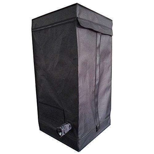 Oshion 2x2x4 Feet Small Indoor Mylar Hydroponics Grow Tent Room (24''x 24''x 48'')