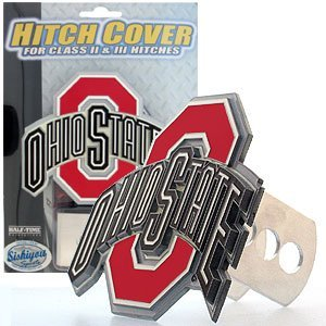 (Ohio State Buckeyes Logo-Only Trailer Hitch Cover)