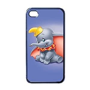 Dumbo Cute iPhone 6 (4.7 inch) Black Designer Shell Hard Case Cover Protector Gift Idea
