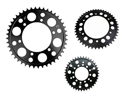 Driven Racing Rear Sprocket - 45T , Sprocket Position: Rear, Sprocket Teeth: 45, Color: Black, Sprocket Size: 520 5063-520-45T