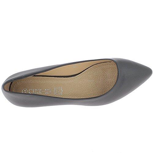 Schuhe Größe schwarz 2,5 cm Ferse