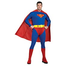 Rubie's Costume Plus-Size Superman Complete Adult Costume, Blue/Red, One Size