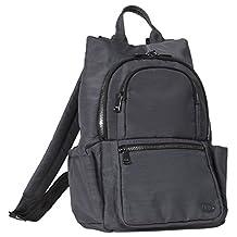 Lug Hatchback Mini Backpack, Brushed Grey, One Size (Model:4931)