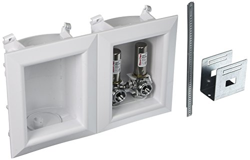Sioux Chief 696-2313XF Washing Machine Outlet Ox Box- With 1/2 Inch Pex Crimp Connections-With Hammer Arrestors ()