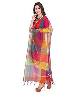 Generic Women's Cotton Silk Malti Dupatta (DDA02, Multicolour, Free Size)