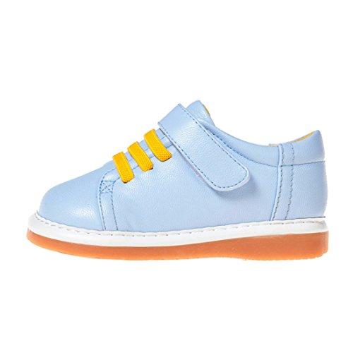 """Little Blue Lamb Chaussures pour garçon amovible, avec élément """"couineur"""", large tête pour enfant/bébé/enfant)"""