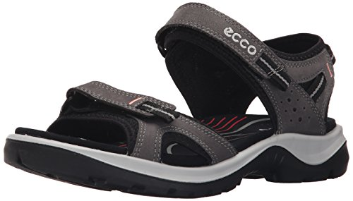 ECCO Women's Yucatan II Outdoor Sandal, Dark Shadow, 37 EU/6-6.5 M US by ECCO