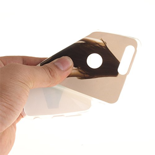 Souple Peint Slim Hozor Scratch TPU De Résistant En Honor Antichoc Cas 8 Huawei Fit Protection Téléphone beauty Bord Transparent Arrière Cas Couverture Silicone De Motif C77w0qX