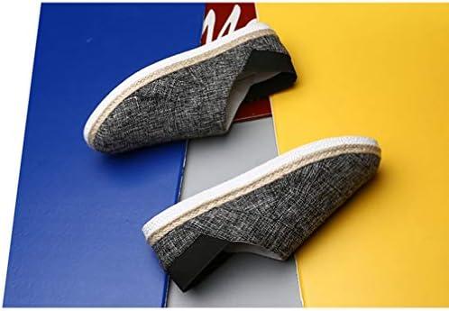 スリッポン メンズ カジュアル ローファー デッキシューズ ローカット キャンバス シューズ フラット 滑り止め 履き脱ぎやすい 通学 海辺 私服 職場用 事務所 通気抜群 蒸れない 夏 布靴 かっこいい 無地