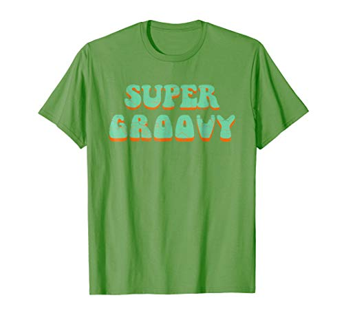 Retro 1970s Vintage Super Groovy T-Shirt-70's Shirt
