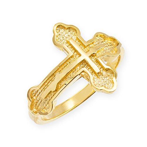 14k Rosary Ring - 7