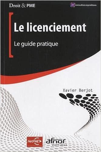 Téléchargement Le licenciement : Le guide pratique pdf, epub