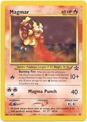 Pokemon Magmar Promo Card # 44 [Toy]