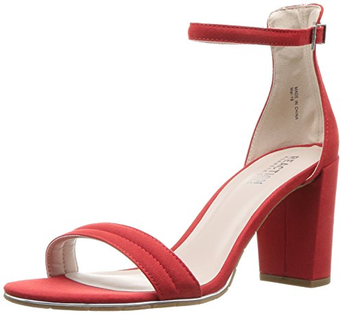 - Kenneth Cole REACTION Women's Lolita Strappy Heeled Sandal red, 9.5 M US