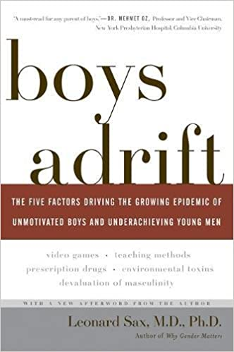 Read This Collapse Of Parenting Why Its >> Amazon Com Boys Adrift The Five Factors Driving The Growing