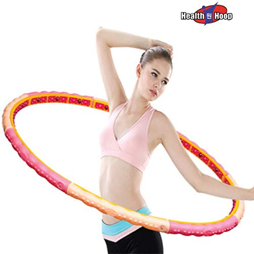 Dynamic Weighted Magnetic Health Hula Hoop for Fat Burning Workout Weight Loss 3.53lb(1.6kg) Fitness,Exercise,Diet