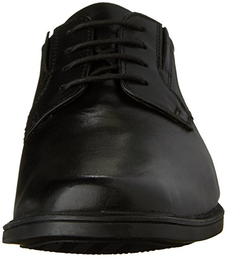 Clarks Tilden de los hombres Plain Toe Oxford Negro