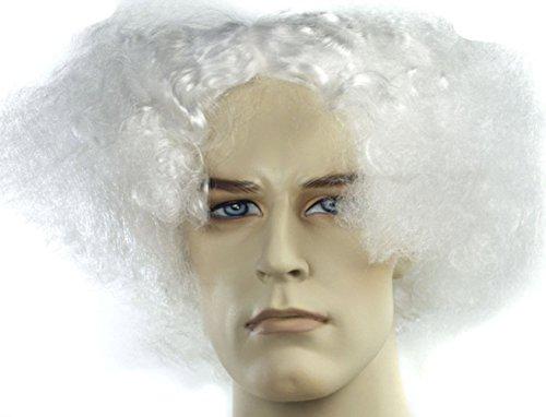 Doc Brown Or Mark Twain White Wig