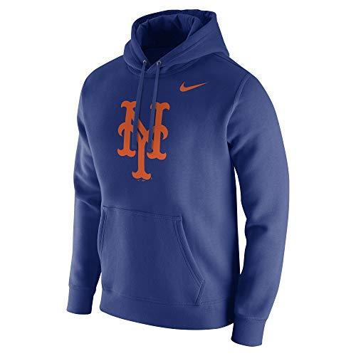 Nike Men's NY Mets MLB Hood Franch Royal Size Medium Crimson