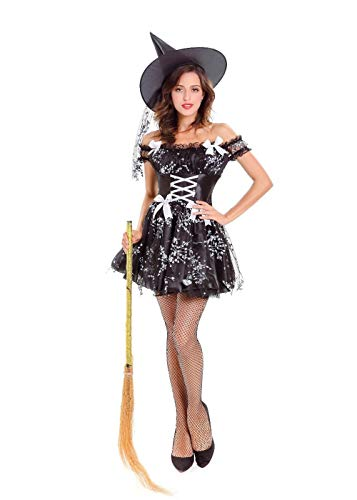 Enchantress Sexy Witch Costumes - Hanbintod Women's Sexy Enchantress Witch Costume