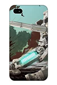 For Iphone 4/4s Protective Case, High Quality For Iphone 4/4s Anime Strike Witches Skin Case Cover