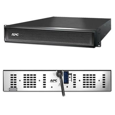 APC SMX48RMBP2U Smart-UPS X 48V External Battery Pack Rack/Tower - Battery enclosure ( rack-mountable ) - 2 x lead acid 864 mAh - 2U - black - for P/N: SMX1000I-DIG, SMX1500RMI2UNC-5XW, SMX750I-3XW, SMX750I-5XW, SMX750I-DIG Apc Series
