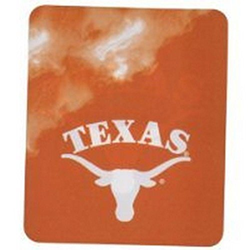The Northwest Company NCAA Officially Licensed Texas Longhorns Smoke Fleece Throw Blanket