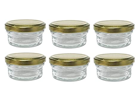 2 oz Small Glass Jars With Lids