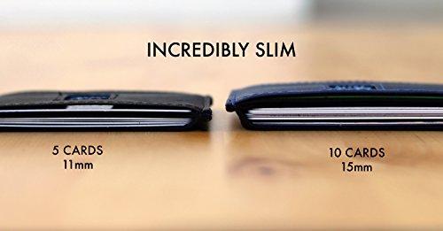Dash Co. RFID Slim Wallet 4.0 for Men (RFID Horizontal Black) by Dash (Image #5)
