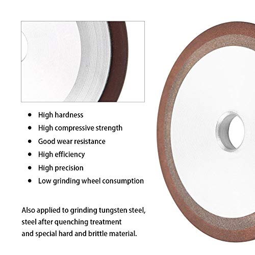Fictor 100ミリメートルダイヤモンド樹脂砥石の耐摩耗性カッターグラインダーグラインドソーブレード