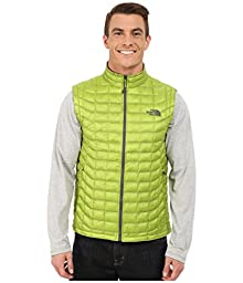 The North Face Mens ThermoBall Vest Macaw Green/Spruce Green X-Large