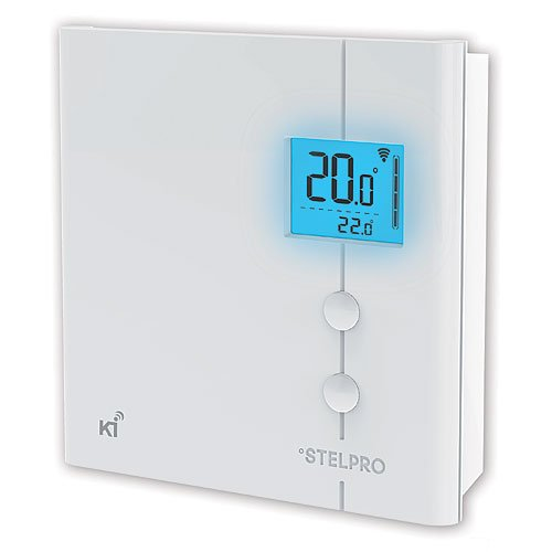 z wave home control stelpro ki z wave plus thermostat for electric. Black Bedroom Furniture Sets. Home Design Ideas