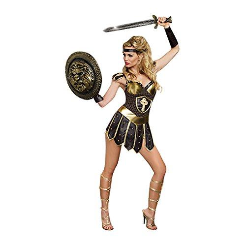 Xena Costume (Dreamgirl Women's Queen Of Swords Warrior, Black, Small)