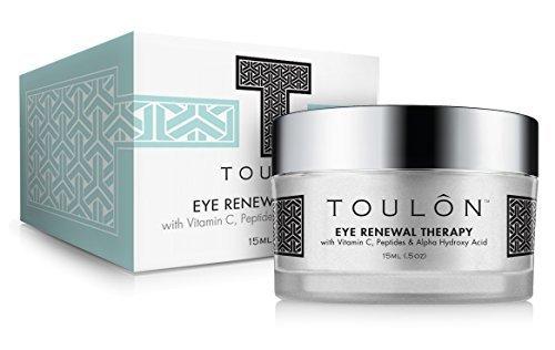 Augencreme Anti Aging mit Vitamin C, Peptide u. Alpha-Hydroxysäure reduziert Schwellungen, lässt dunkle Augenringe u. Mudigkeitserscheinungen verblassen, strafft Falten um die Augen, und kühlt u. erfrischt die Haut. Beste Anti-Aging Augencr