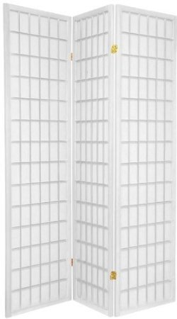 Legacy Decor 3-panel Room Screen Divider - White