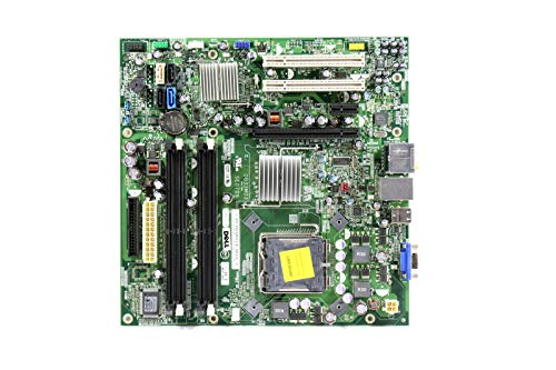 Genuine Dell Motherboard For Inspiron 530, 530s and Vostro 200, 400 Systems. Compatible Part Numbers: G679R, RY007, FM586, CU409, RN474, K216C, GN723, G33M02 (Renewed)