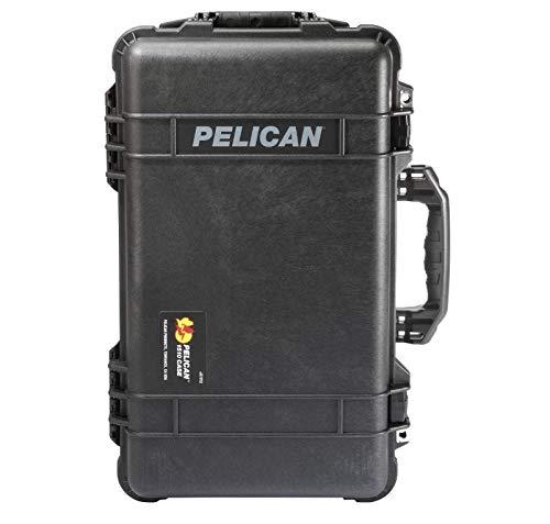 1510 Carry-On Case with Foam Set (Black) [並行輸入品] B07M7SCN7Q