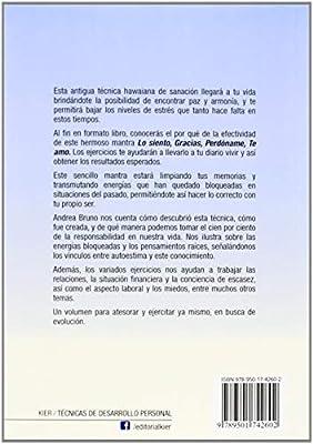 Hooponopono.Ejercicios Con Palabras Que Sanan: Amazon.es: Andrea Bruno: Libros