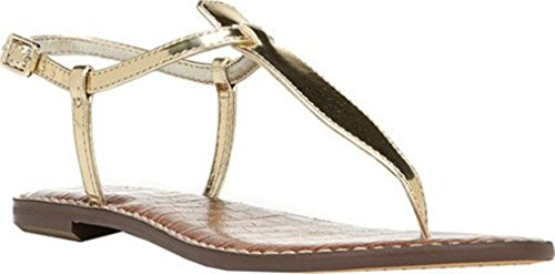 Sam Edleman Gigi - Chanclas para mujer Goldshine Liquid Metallic
