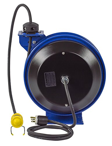 Coxreels EZ-PC13-5016-C Safety Series Spring Rewind Power Cord Reel: Fluorescent Tube Light, 50' cord, 16 AWG by Coxreels (Image #6)