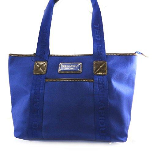 Shopping bag Ted Lapidusblu royal.