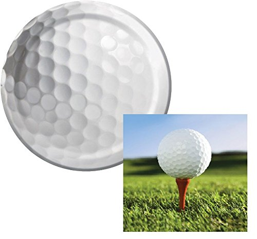 Golf Sports Fanatic Dessert Napkins & Plates Party Kit for 8 -