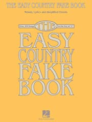 (Easy Fake Book). More than 100 country favorites all in the key of C, arranged with simplified harmonies and melodies and complete lyrics: All My Ex's Live in Texas * Blue * Breathe * Cold, Cold Heart * Crazy * Daddy Sang Bass * Forever and ...