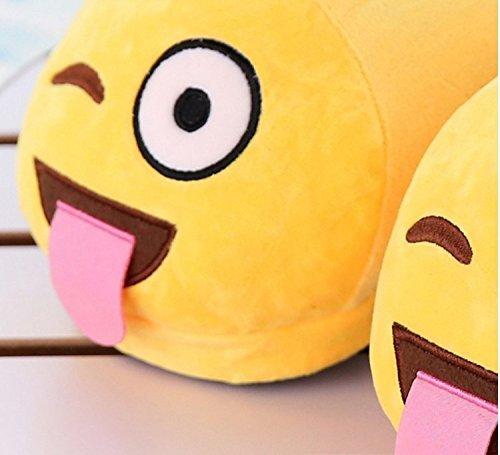 Plush Poop Smiley Soft Bedroom Unisex Slippers Poop Comfy Kids Color Socks For House Adults 02 Emoji Funny JLTPH A07RO0