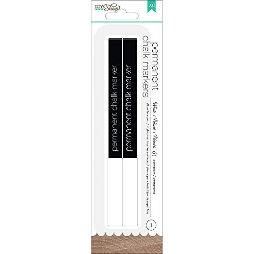 Crafts Markers Point American Broad (American Crafts Chalk Markers Broad Point, White)