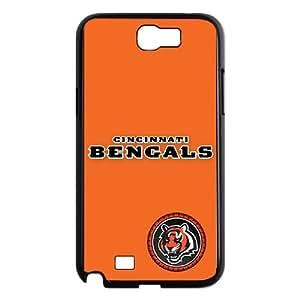 Cincinnati Bengals Team Logo Samsung Galaxy N2 7100 Cell Phone Case Black 218y3-212449
